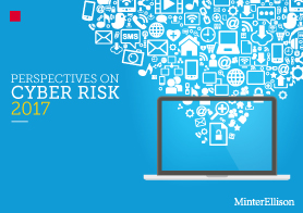 Perspectives on cyber risk 2017
